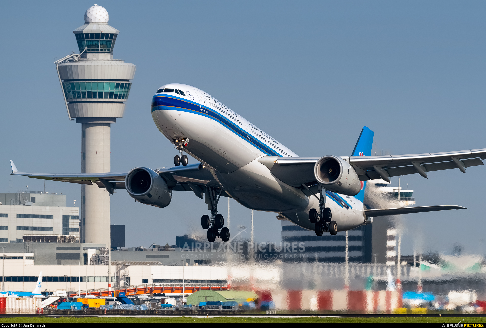 China Southern Airlines B-8361 aircraft at Amsterdam - Schiphol