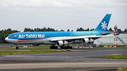 F-OJTN - Air Tahiti Nui Airbus A340-300