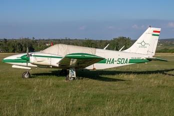 HA-SOA - Private Piper PA-34 Seneca