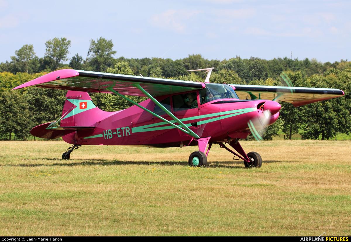 Private HB-ETR aircraft at Diest Schaffen