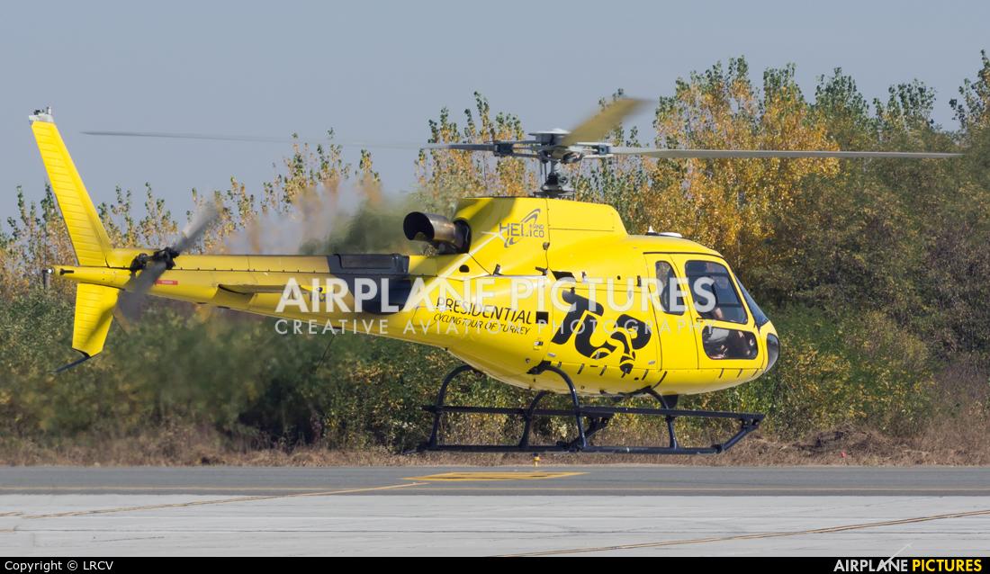Heli & Co OO-WGW aircraft at Craiova
