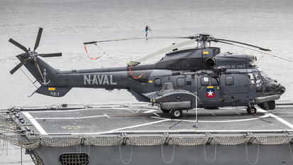 76 - Chile - Navy Aerospatiale AS532 Cougar