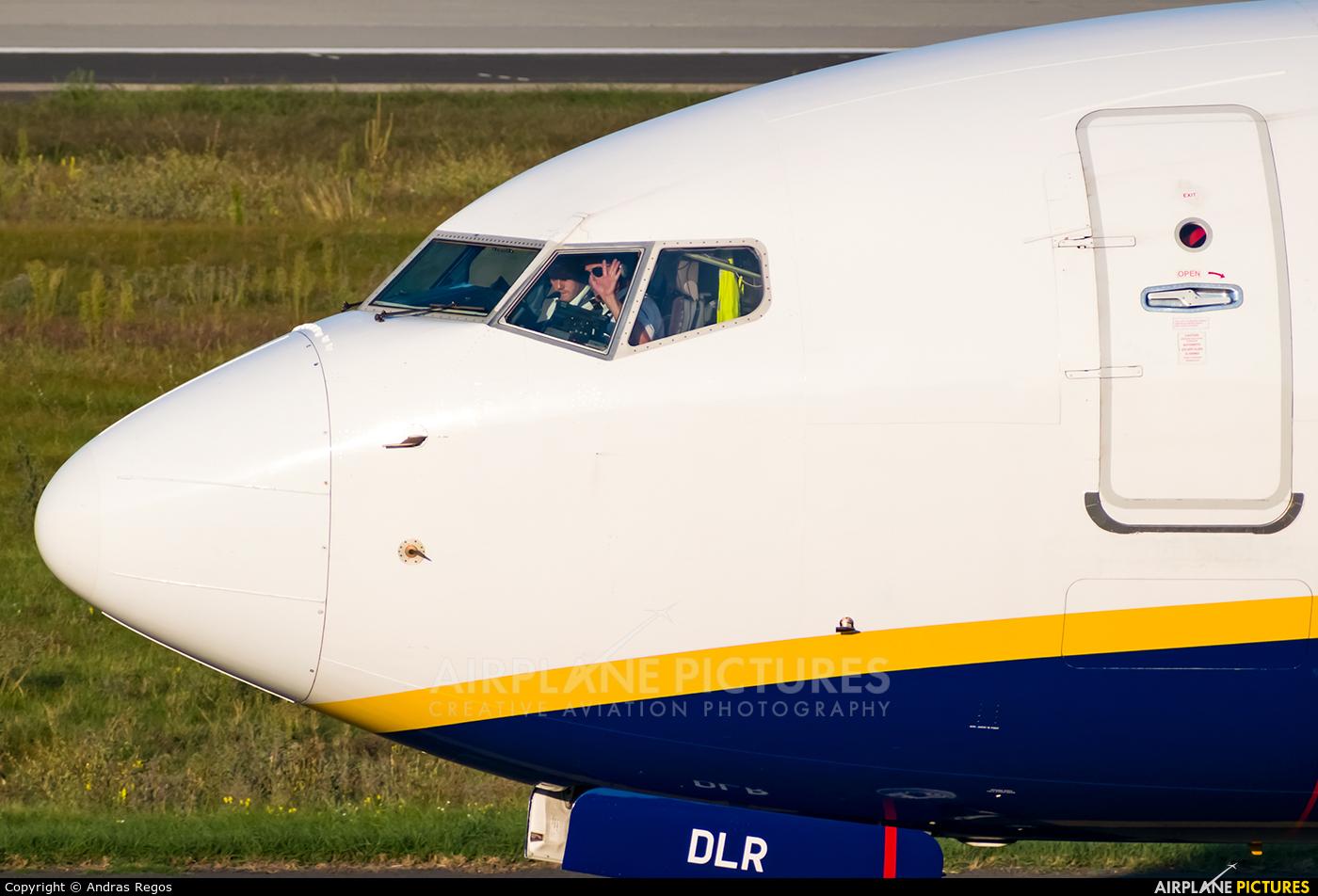 Ryanair EI-DLR aircraft at Budapest Ferenc Liszt International Airport