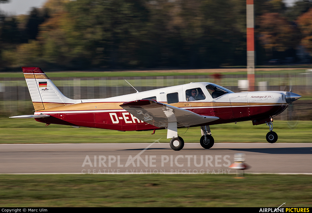 Private D-EHAH aircraft at Augsburg