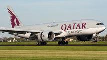 A7-BFF - Qatar Airways Cargo Boeing 777F aircraft
