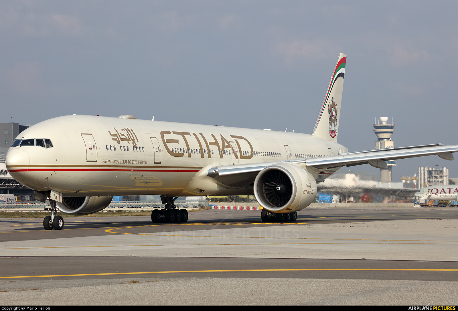Etihad Airways A6-ETM aircraft at Milan - Malpensa