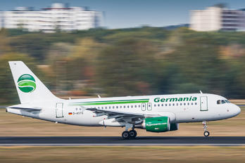 D-ASTQ - Germania Airbus A319