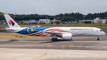 9M-MAF - Malaysia Airlines Airbus A350-900 aircraft