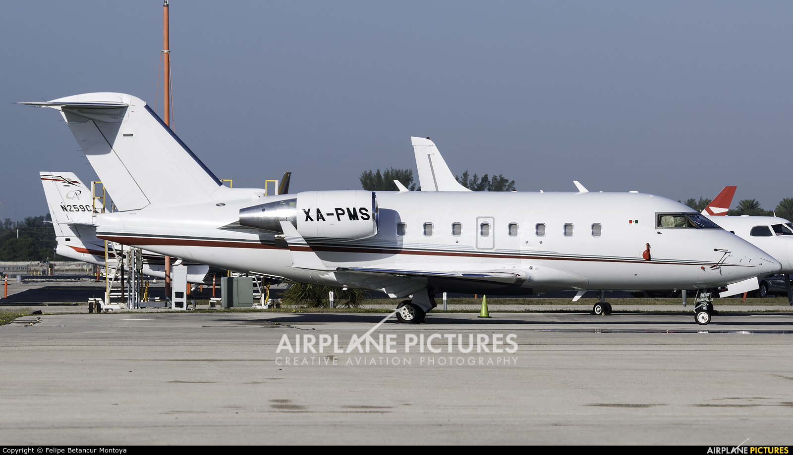 Private XA-PMS aircraft at Fort Lauderdale - Hollywood Intl