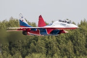 "RF-92804 - Russia - Air Force ""Strizhi"" Mikoyan-Gurevich MiG-29UB aircraft"