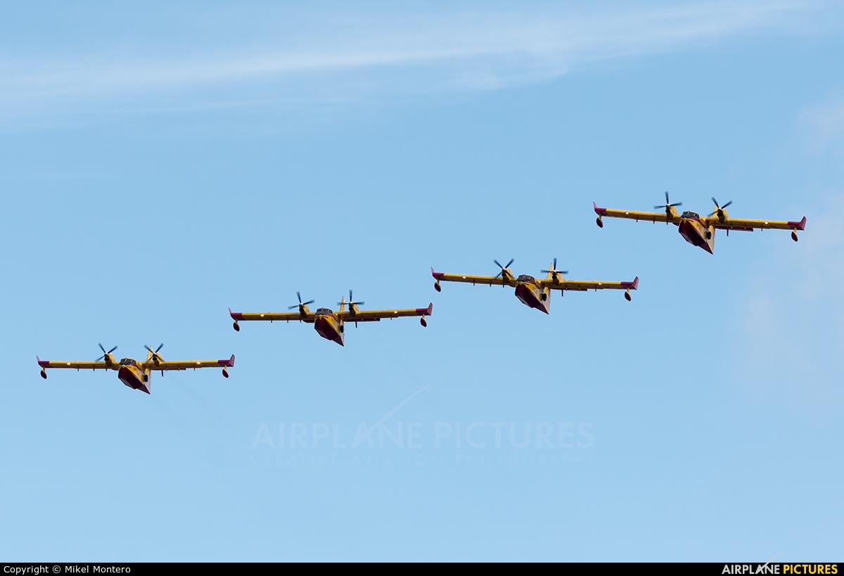 Spain - Air Force UD.13-20 aircraft at Madrid - Torrejon