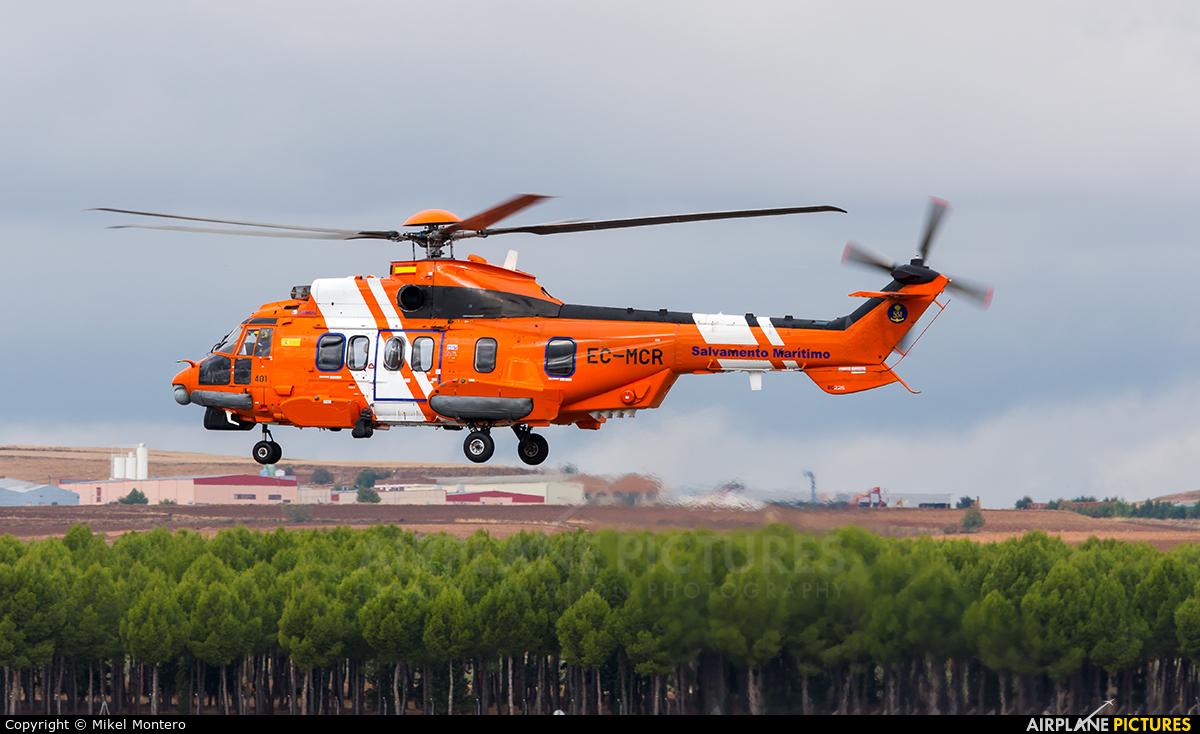 Spain - Coast Guard EC-MCR aircraft at Madrid - Torrejon