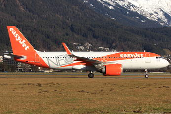 G-UZHB - easyJet Airbus A320 NEO