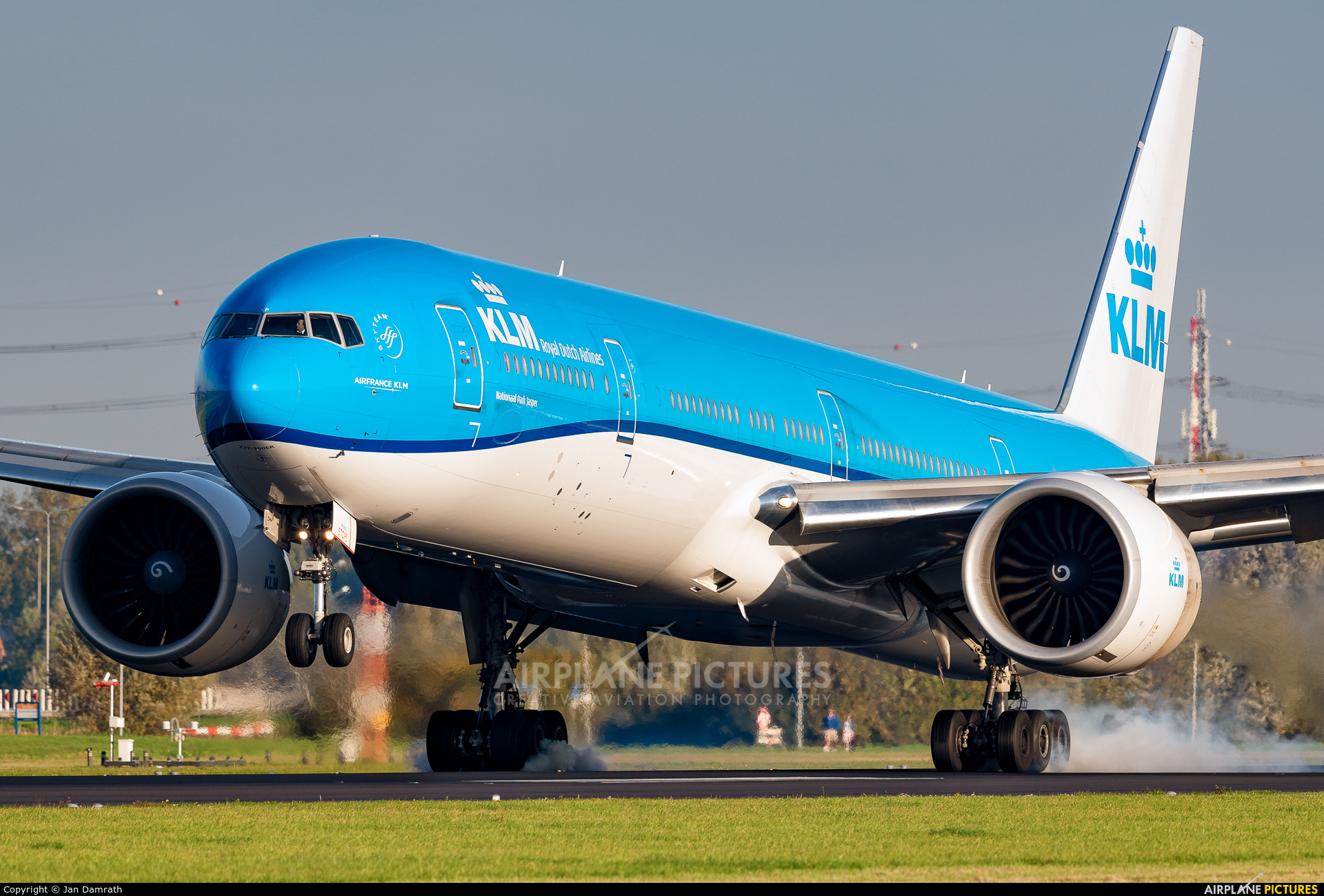 KLM PH-BVP aircraft at Amsterdam - Schiphol