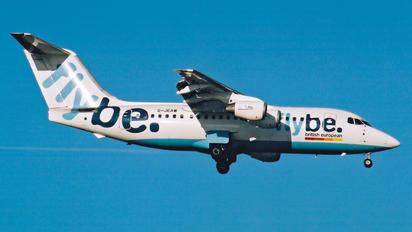 G-JEAW - Flybe British Aerospace BAe 146-200/Avro RJ85