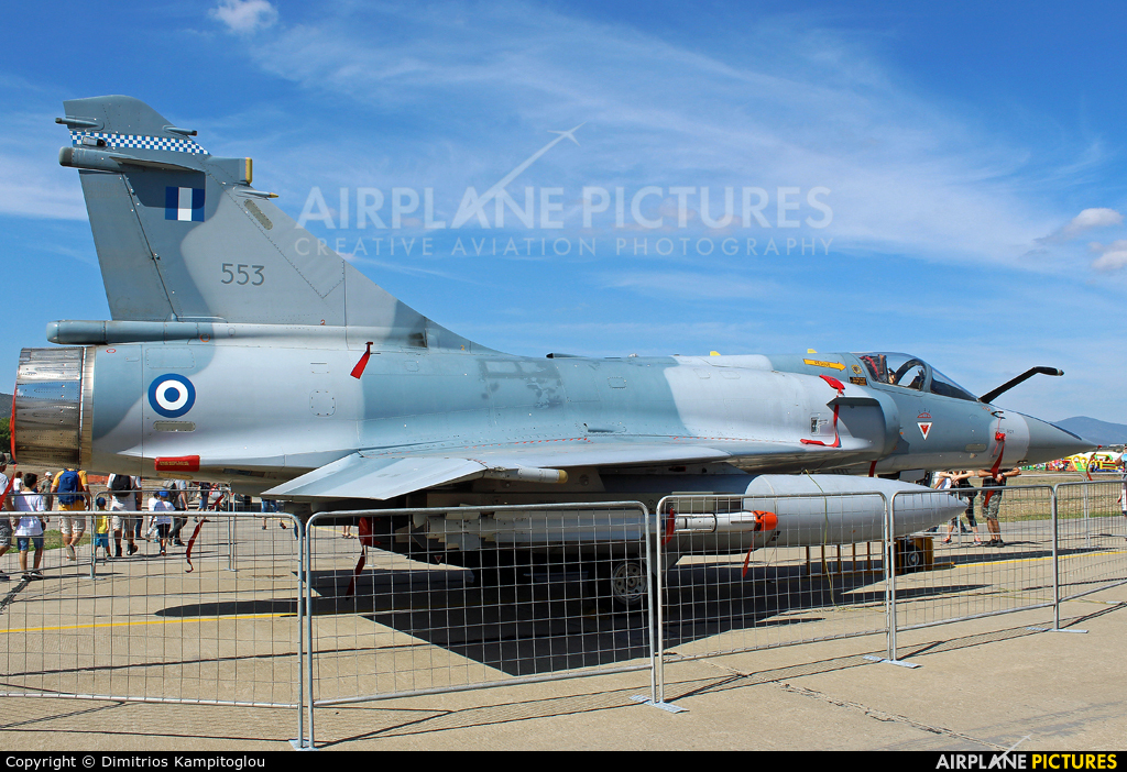 Greece - Hellenic Air Force 553 aircraft at Tanagra