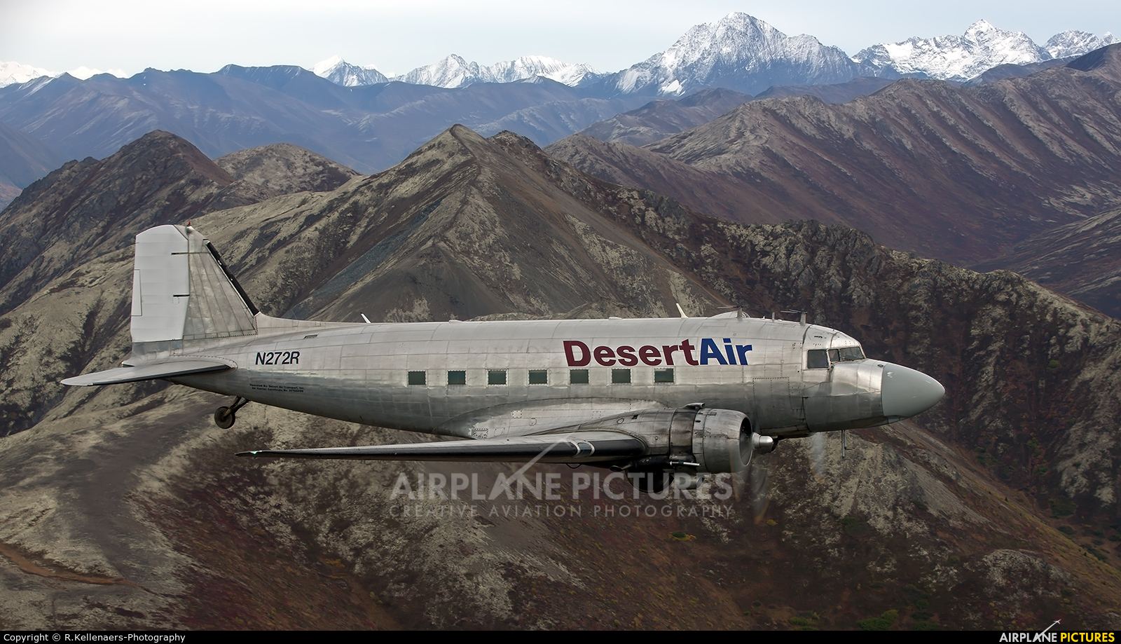 Desert Air N272R aircraft at In Flight - Alaska