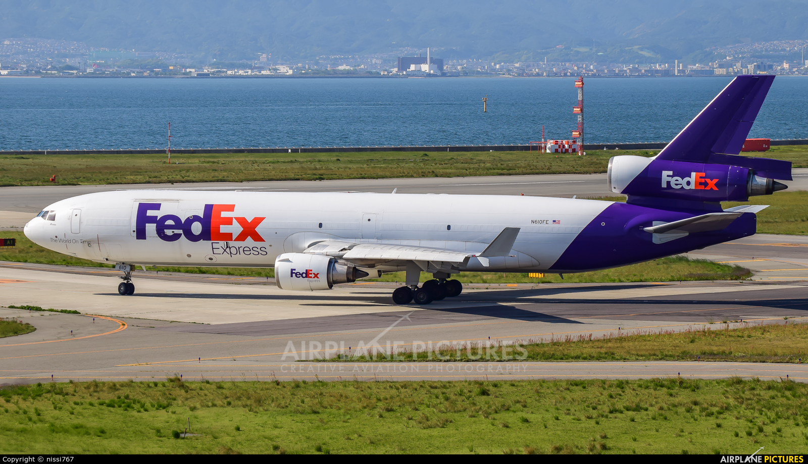 FedEx Federal Express N610FE aircraft at Kansai Intl