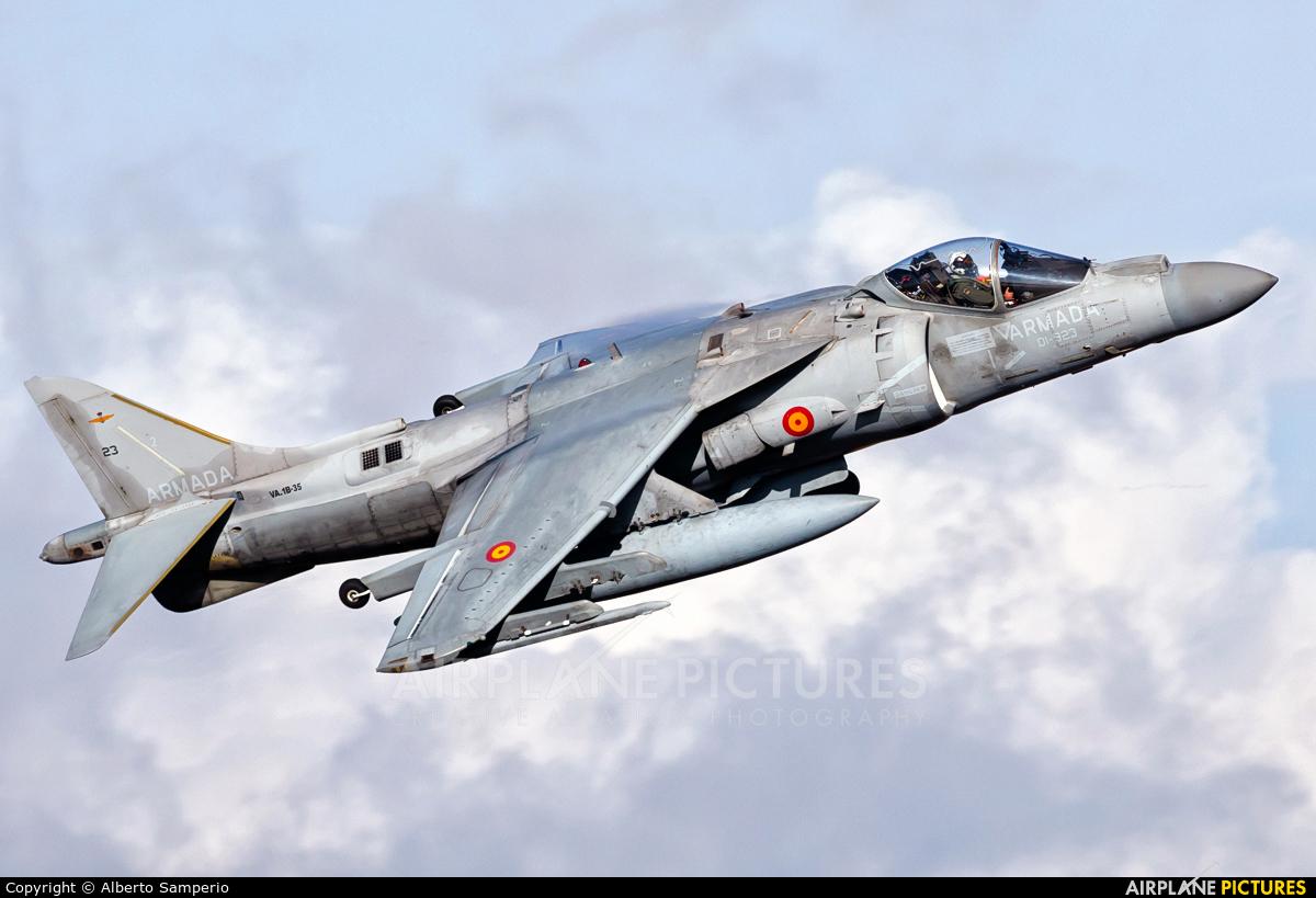 Spain - Navy VA.1B-35 aircraft at Madrid - Torrejon