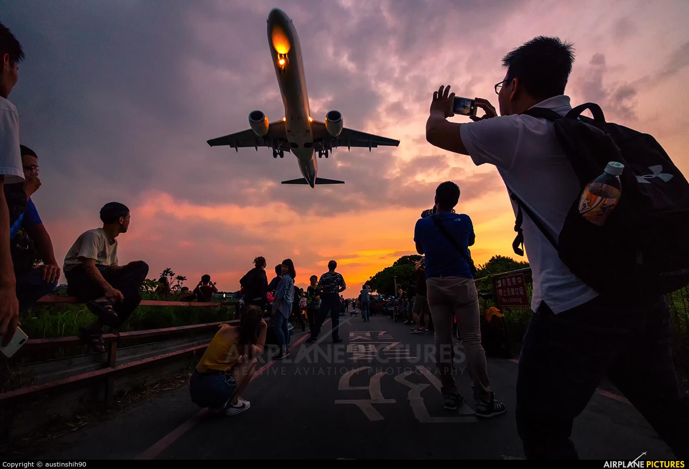 Mandarin Airlines B-16822 aircraft at Taipei - Sung Shan