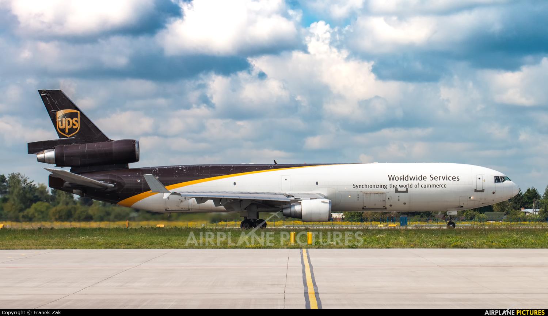 UPS - United Parcel Service N289UP aircraft at Warsaw - Frederic Chopin