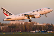 F-GUGK - Air France Airbus A318 aircraft