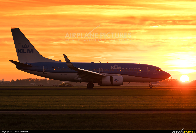 KLM PH-BGE aircraft at Amsterdam - Schiphol