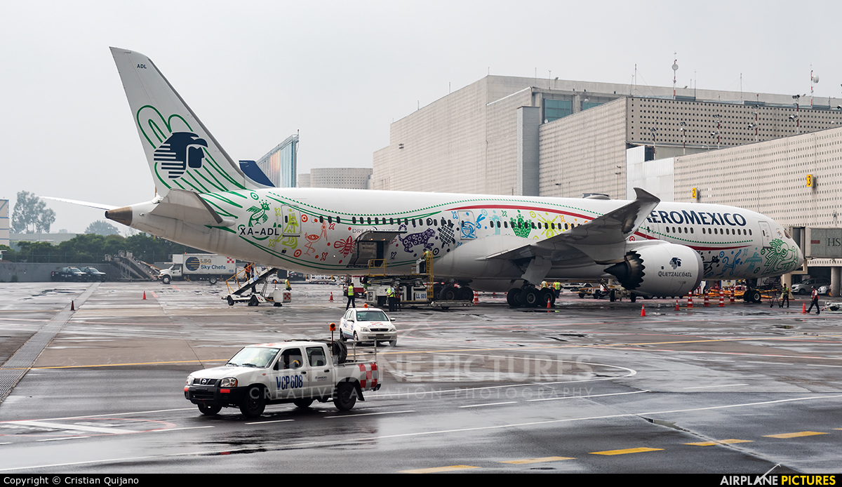 Aeromexico XA-ADL aircraft at Mexico City - Licenciado Benito Juarez Intl