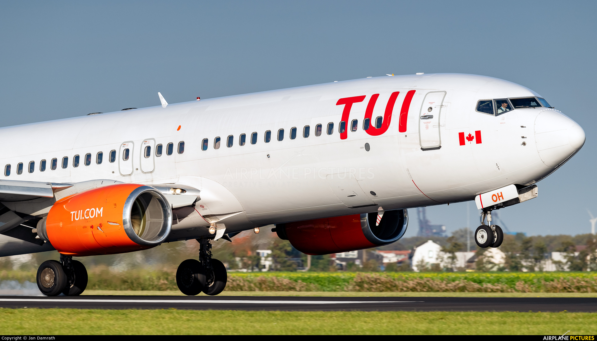 TUI Airlines Netherlands C-FTOH aircraft at Amsterdam - Schiphol