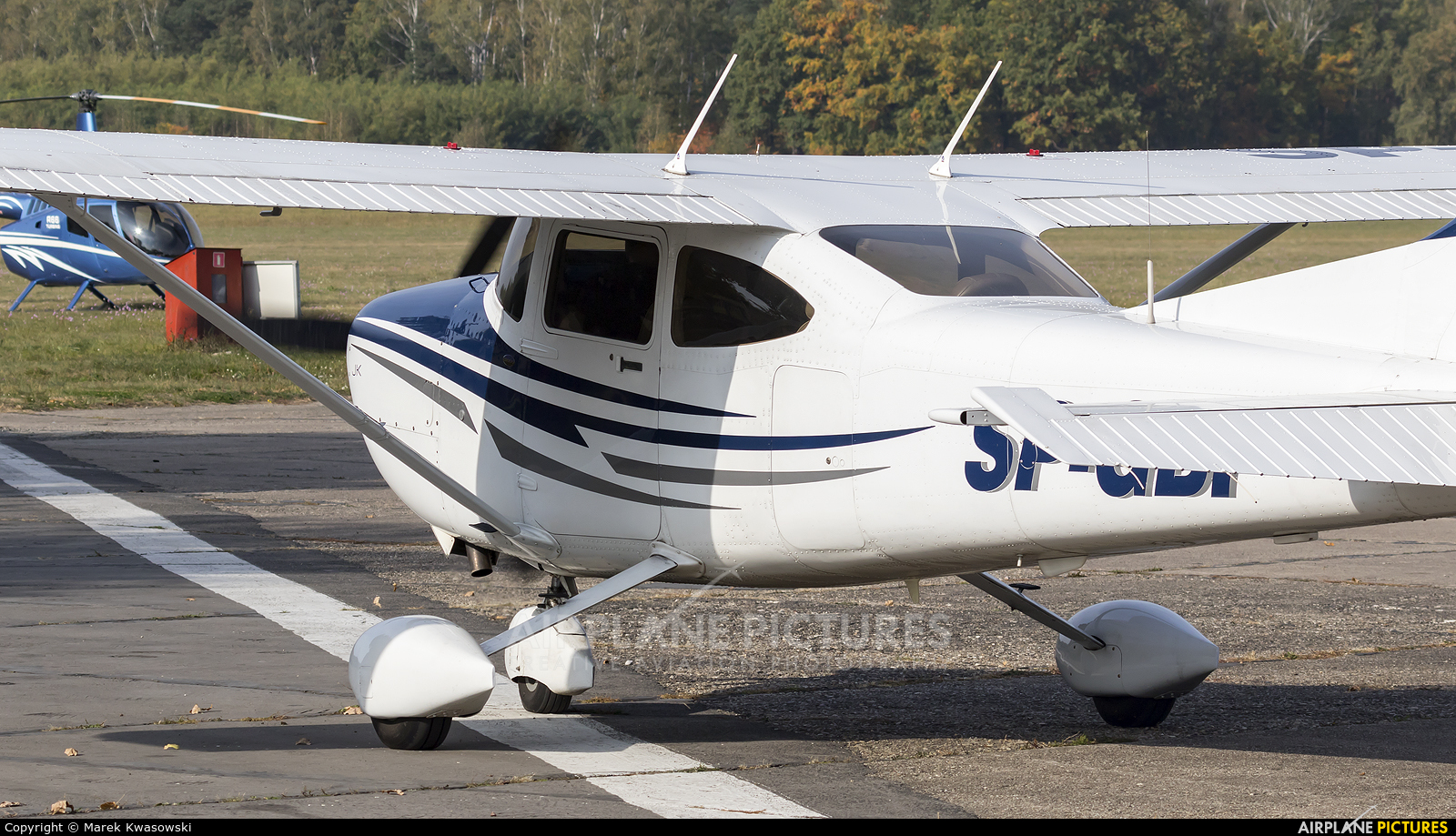 Private SP-GBP aircraft at Warsaw - Babice