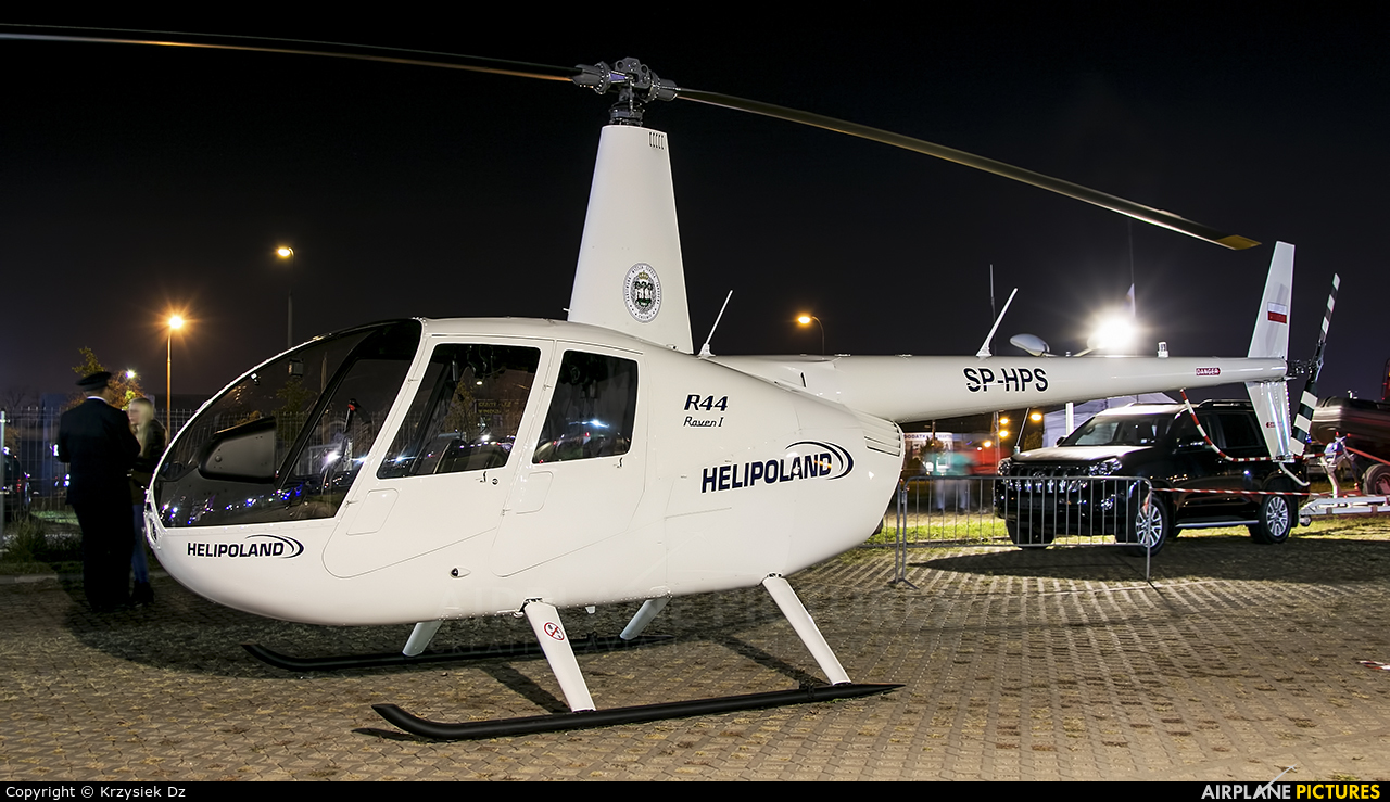 Helipoland SP-HPS aircraft at Off Airport - Poland