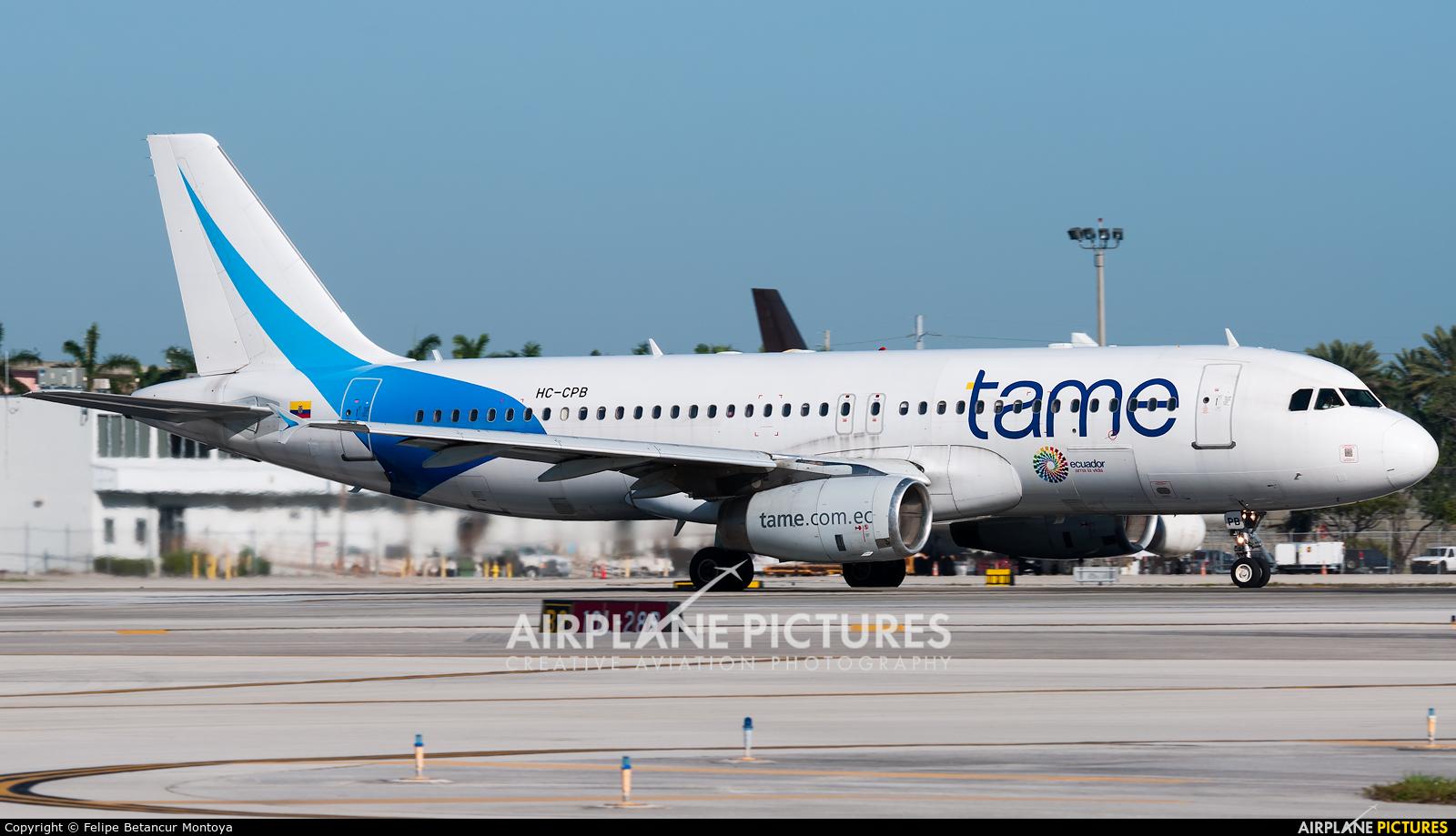TAME HC-CPB aircraft at Fort Lauderdale - Hollywood Intl