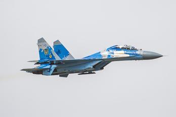 70 - Ukraine - Air Force Sukhoi Su-27UB