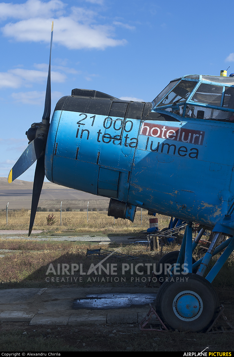 Regional Air Services YR-PMR aircraft at Tulcea - Delta Dunării