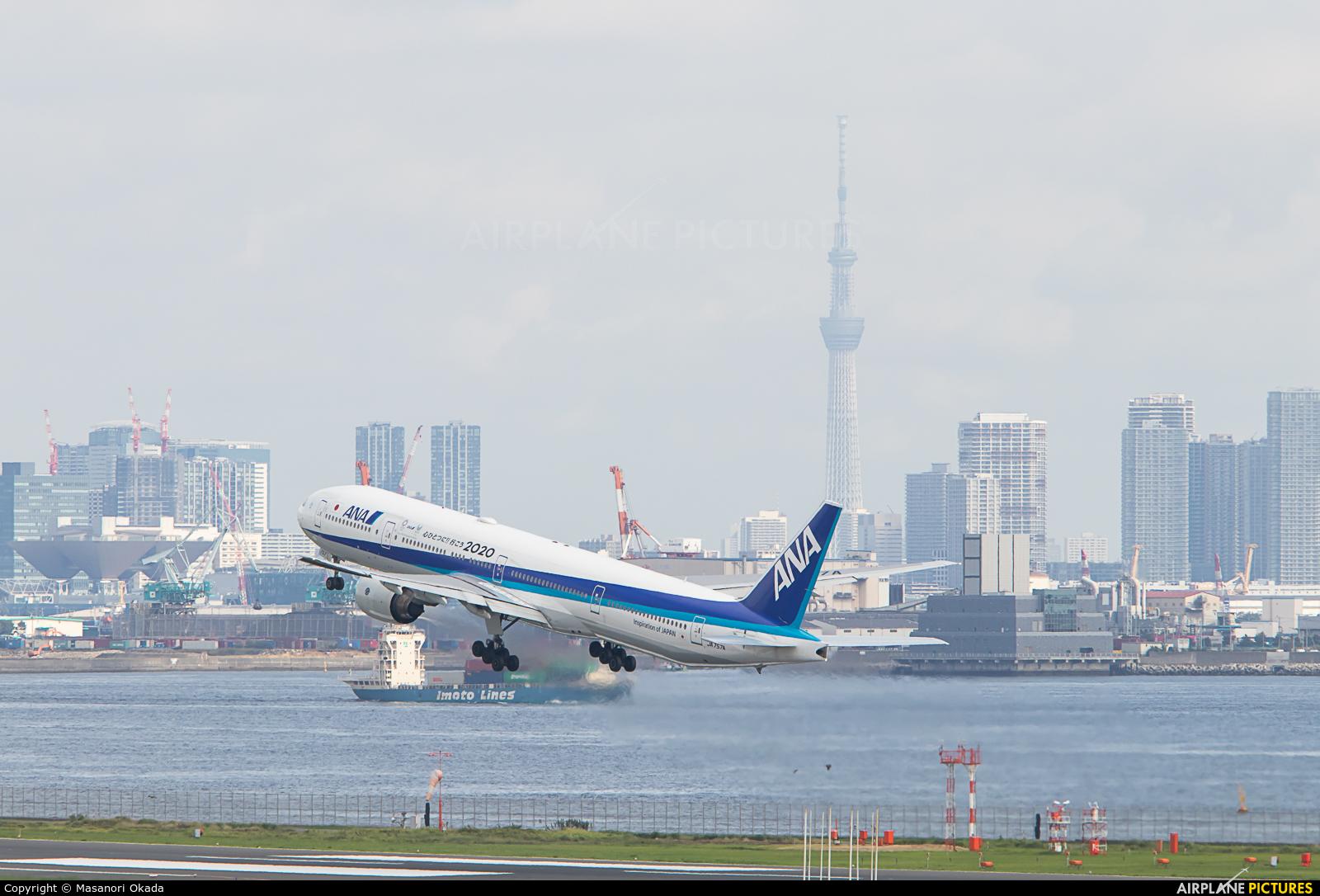ANA - All Nippon Airways JA757A aircraft at Tokyo - Haneda Intl