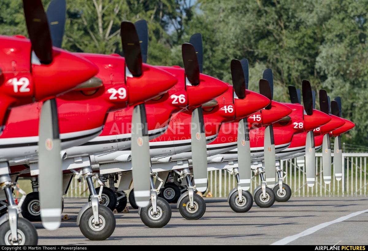 Switzerland - Air Force A-916 aircraft at Locarno