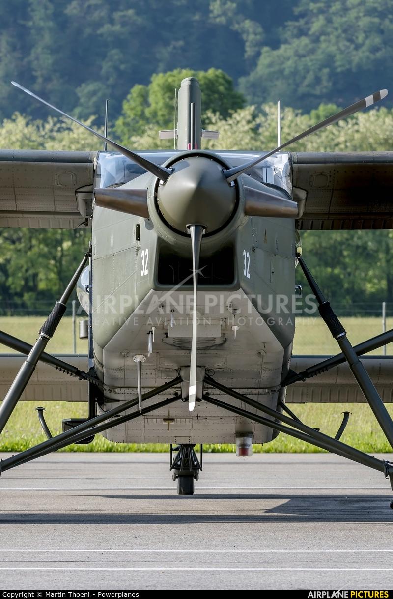 Switzerland - Air Force V-632 aircraft at Locarno