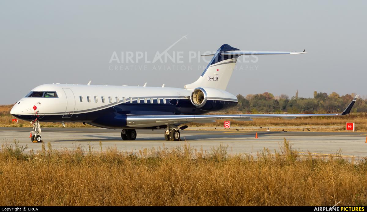 Avcon Jet OE-LDR aircraft at Craiova