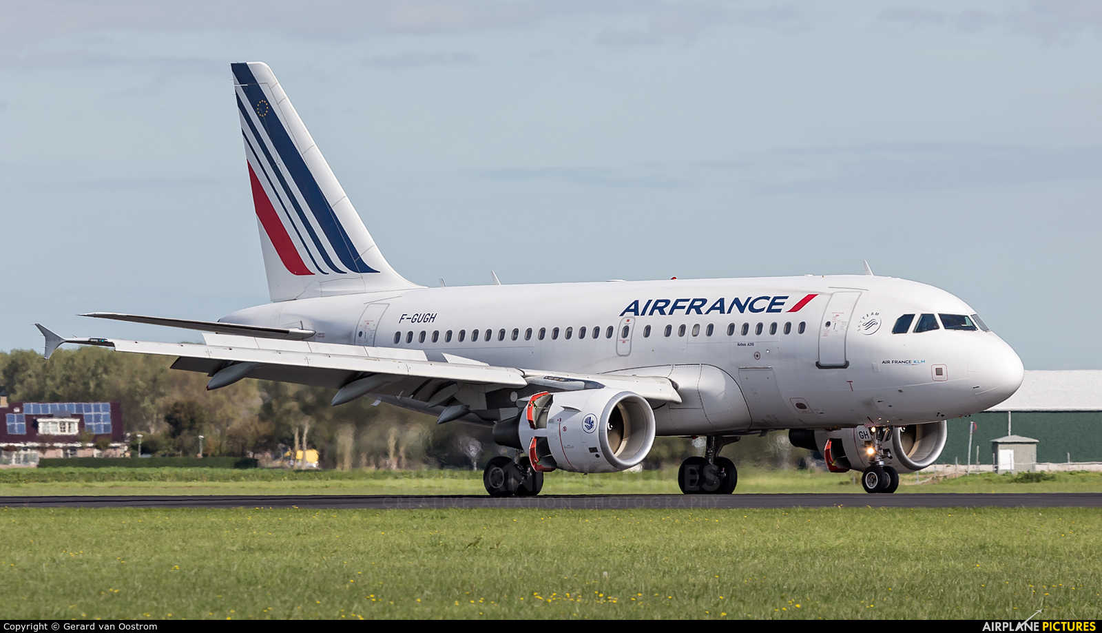 Air France F-GUGH aircraft at Amsterdam - Schiphol