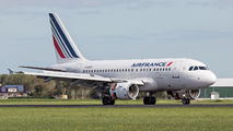 F-GUGH - Air France Airbus A318 aircraft