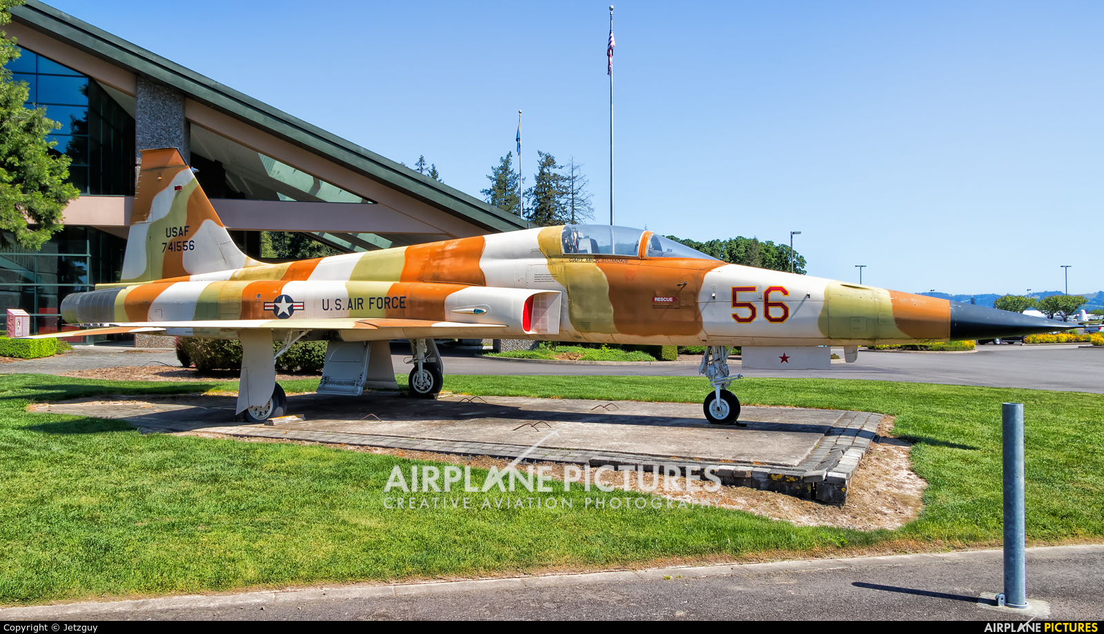 USA - Air Force 741556 aircraft at McMinnville - Evergreen Aviation & Space Museum