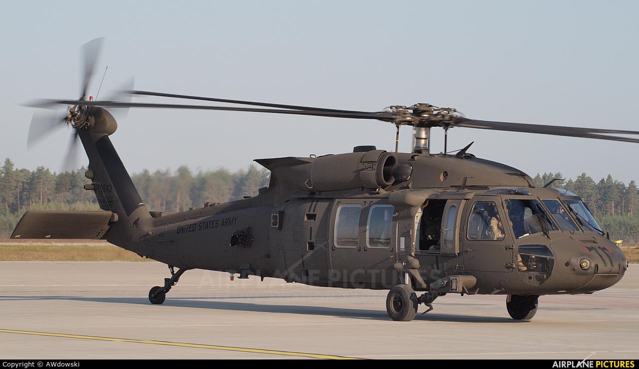 USA - Army 16-20843 aircraft at Olsztyn Mazury Airport (Szymany)