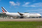 F-GLZS - Air France Airbus A340-300 aircraft