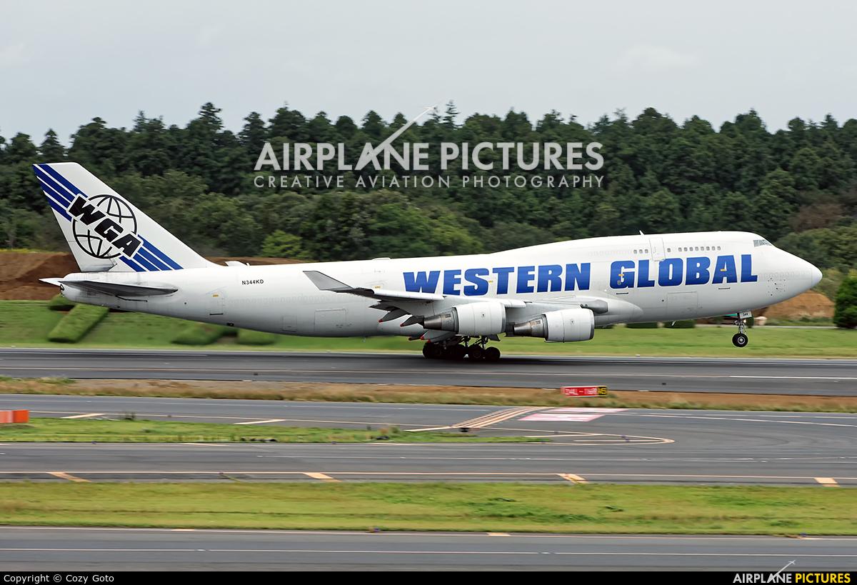 Western Global Airlines N344KD aircraft at Tokyo - Narita Intl