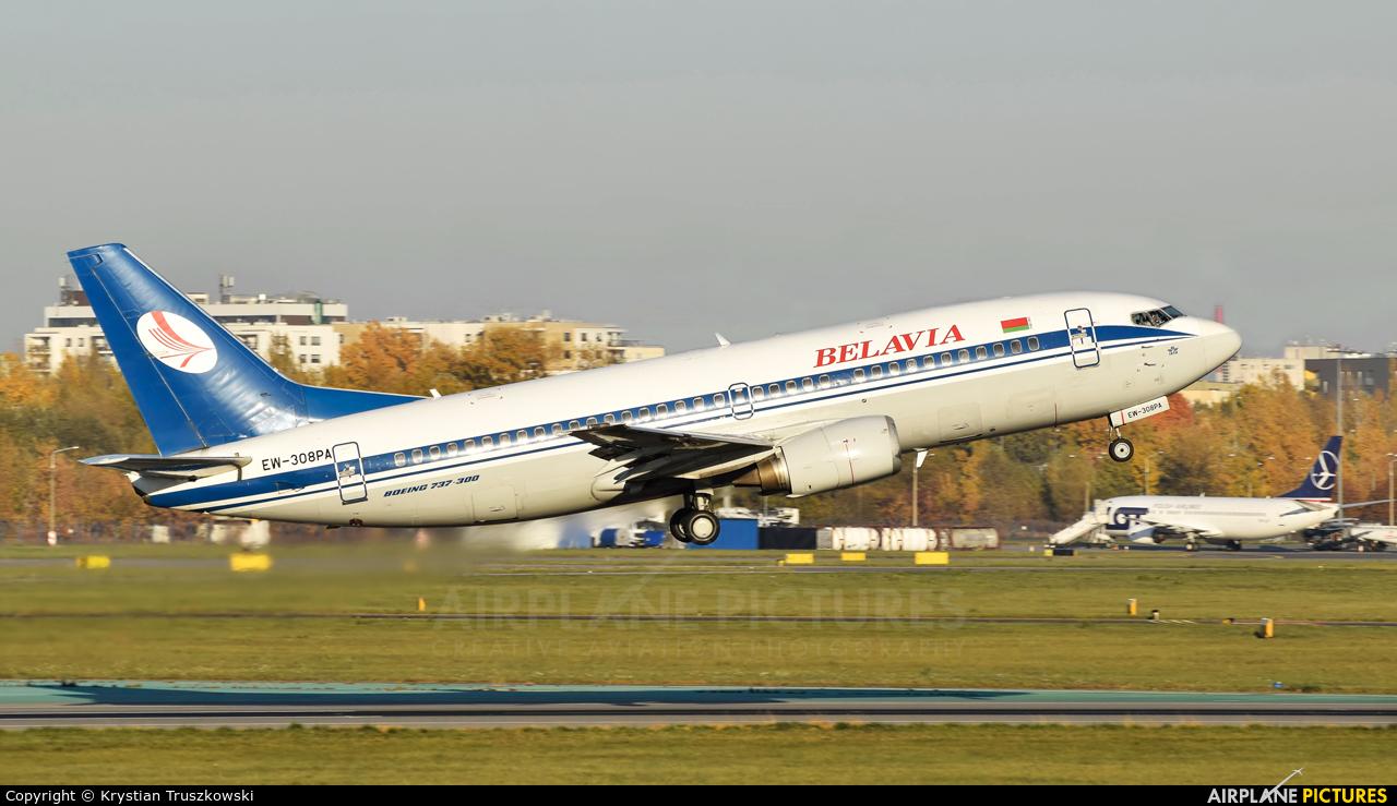 Belavia EW-308PA aircraft at Warsaw - Frederic Chopin