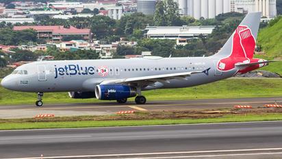N605JB - JetBlue Airways Airbus A320