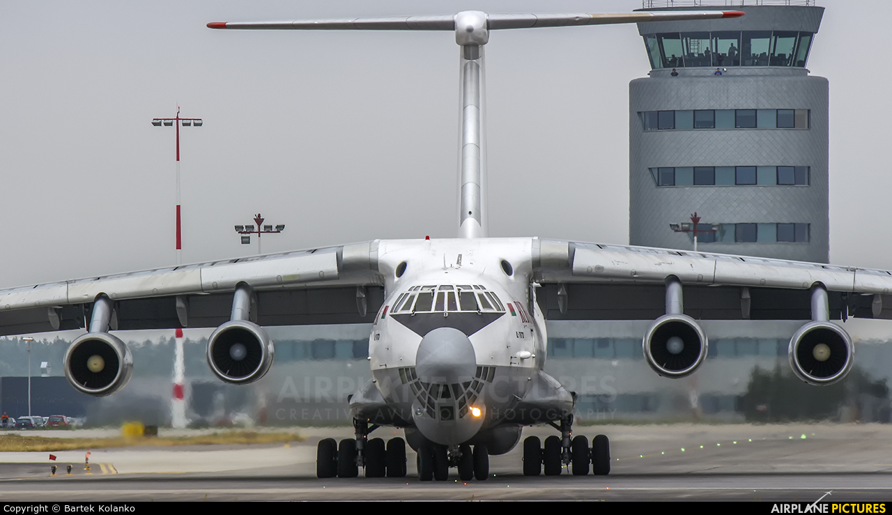 Ruby Star Air Enterprise EW-412TH aircraft at Rzeszów-Jasionka