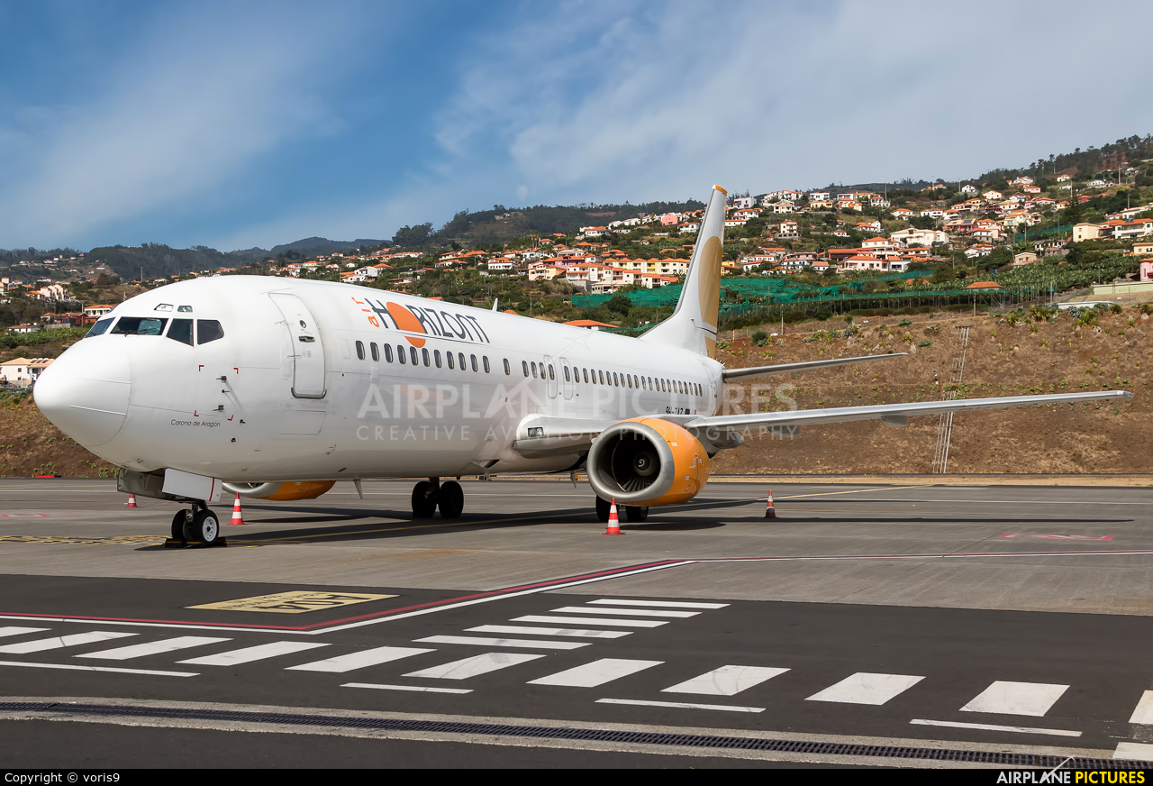Air Horizont 9H-ZAZ aircraft at Madeira