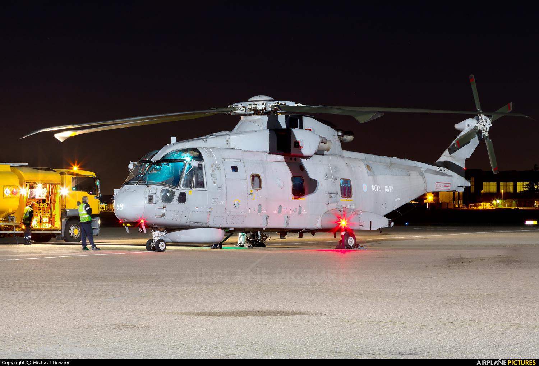 Royal Navy ZH843 aircraft at Northolt