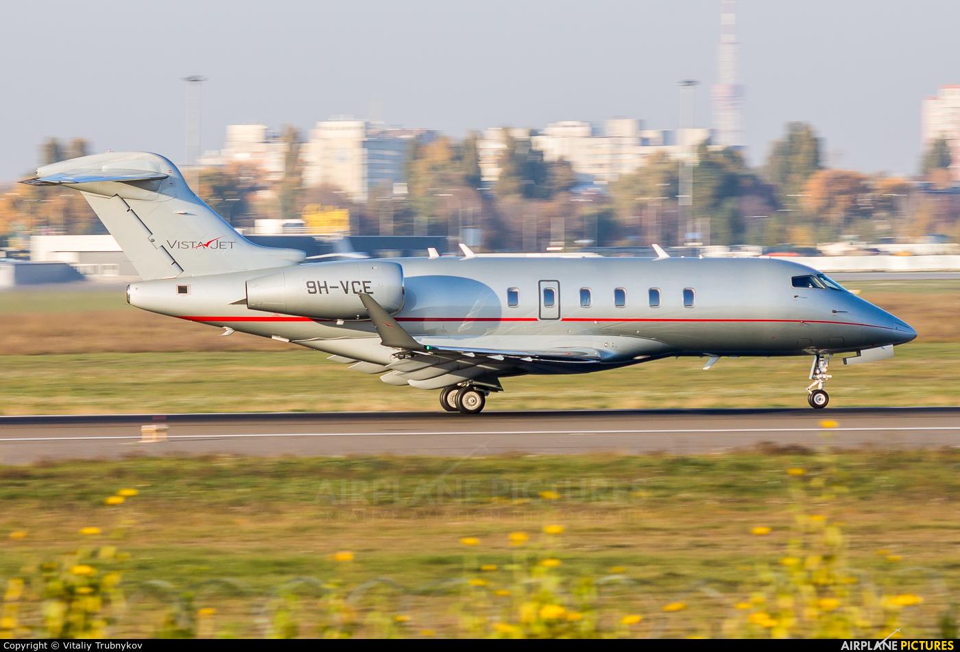 Vistajet 9H-VCE aircraft at Kiev - Zhulyany